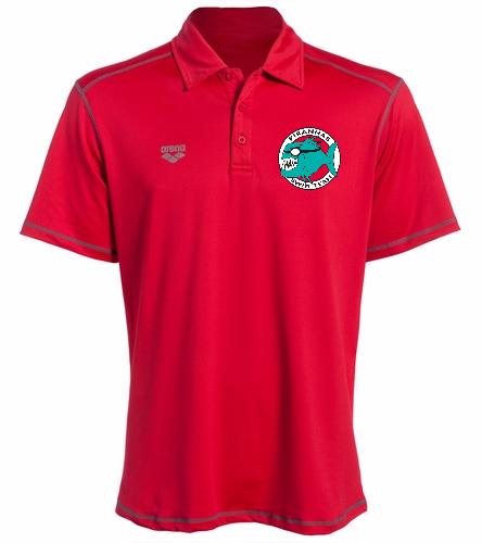 Piranhas Red Polo Shirt - Arena Camshaft USA Unisex Polo Shirt