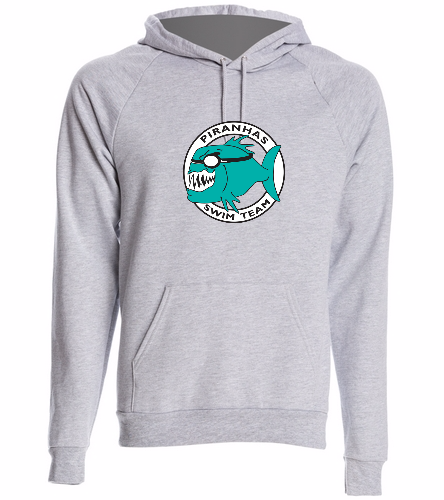 Piranhas Gray Hoodie - SwimOutlet Unisex California Fleece Pullover Hoodie