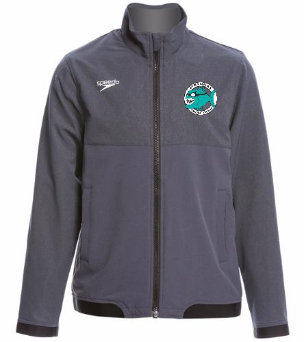Piranhas Youth Warm Up Jacket - Speedo Youth Tech Warm Up Jacket