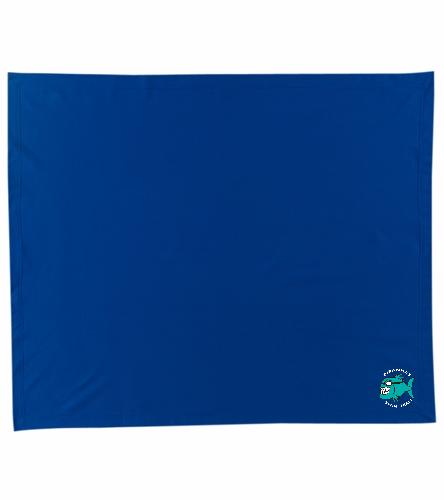 Piranhas Team Blanket  - SwimOutlet Stadium Blanket