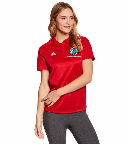Pennbrooke Piranhas- Parent Coordinator - Adidas Women's Select Polo