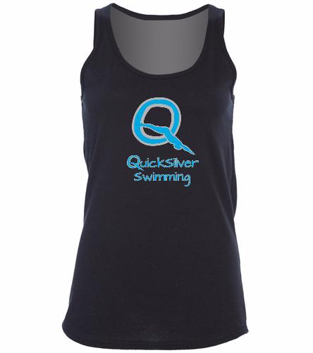 Quicksilver  -  Ladies 5.4-oz 100% Cotton Tank Top
