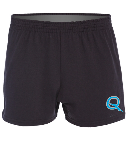 Women's jersey shorts - SwimOutlet Custom Women's Fitted Jersey Short