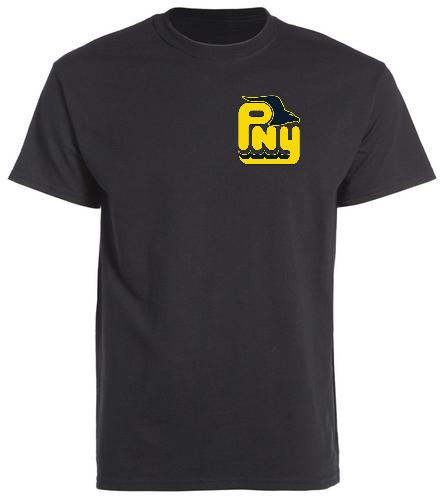 PNY Swim Dad (Black Shirt) - SwimOutlet Cotton Unisex Short Sleeve T-Shirt