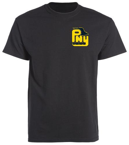 PNY Swim Parent (Black Shirt) - SwimOutlet Cotton Unisex Short Sleeve T-Shirt