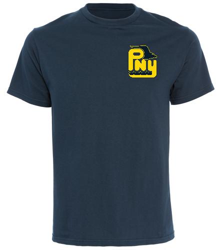 PNY Swim Dad Navy Shirt - SwimOutlet Cotton Unisex Short Sleeve T-Shirt