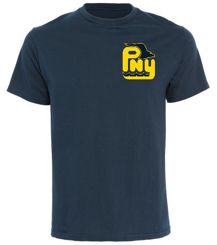 PNY Swim Parent Navy Shirt - SwimOutlet Cotton Unisex Short Sleeve T-Shirt