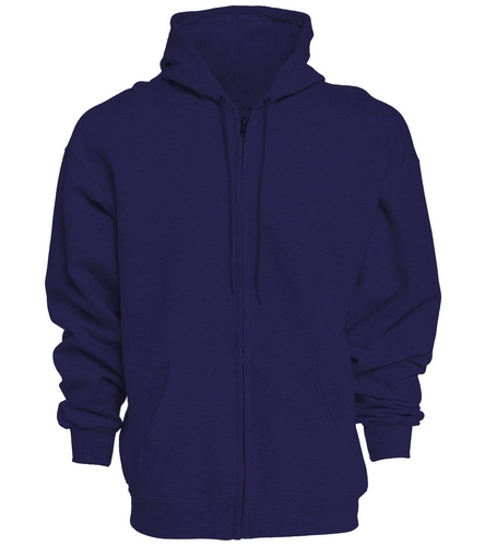 PNY Logo On Back (Zipper Hoodie) - SwimOutlet Unisex Adult Full Zip Hoodie