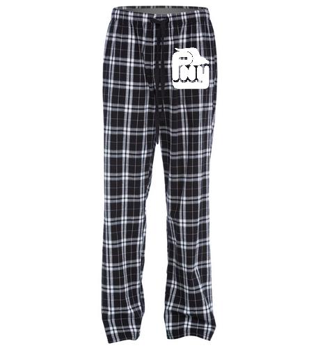 PNY Pajama Pants Black & white - SwimOutlet Unisex Flannel Plaid Pant