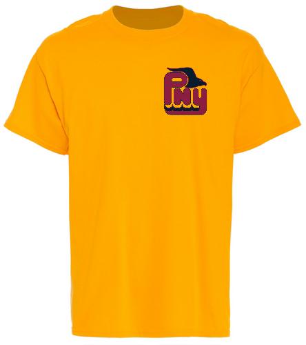 PNY Logo Shirt (Gold) - SwimOutlet Unisex Cotton T-Shirt - Brights