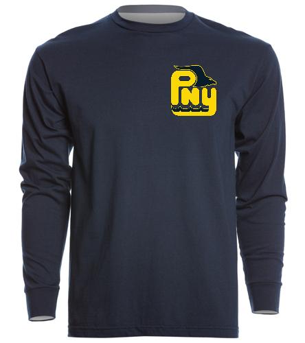 PNY Long Sleeve Shirt - SwimOutlet Unisex Long Sleeve Crew/Cuff