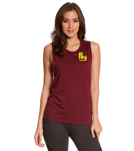 PNY Muscle Tee - Bella + Canvas Flowy Scoop Workout Muscle Tee
