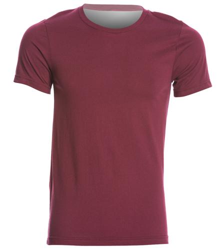 PNY Burgandy Shirt (Logo On Back) - Bella + Canvas Men's Jersey Tee