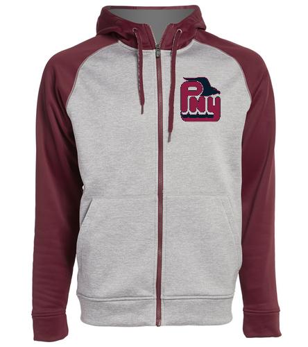 PNY Hoodie With Zipper - Adidas Men's Team Issue Full Zip Fleece