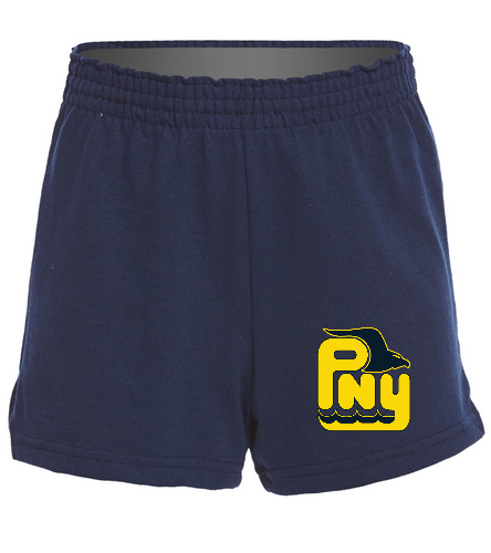 PNY Girls Shorts - SwimOutlet Custom Girls' Fitted Jersey Short