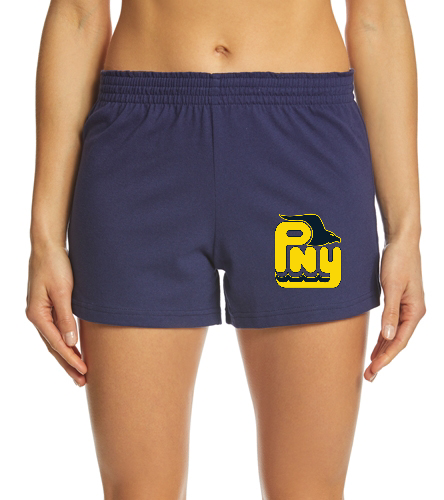 PNY Adult Size Shorts - SwimOutlet Custom Women's Solid Team Knit Short