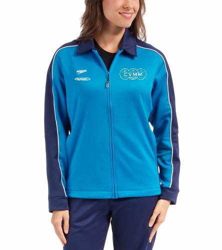 CVMM Womens Jacket - Speedo Streamline Female Warm Up Jacket