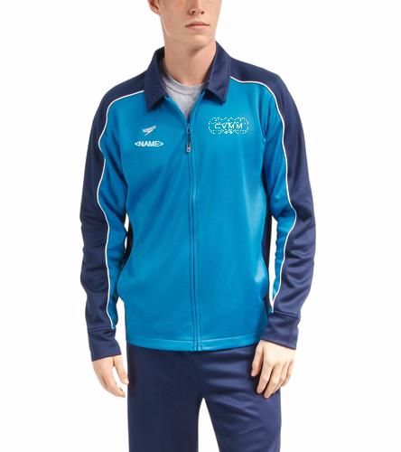 CVMM Mens Jacket - Speedo Streamline Male Warm Up Jacket
