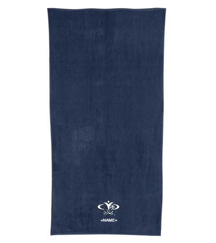 CYC SeaLions - Royal Comfort Terry Velour Beach Towel 32 X 64