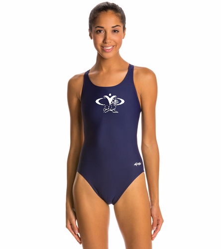 CYC Sealions - Dolfin Xtra Life Lycra Solid HP Back One Piece Swimsuit