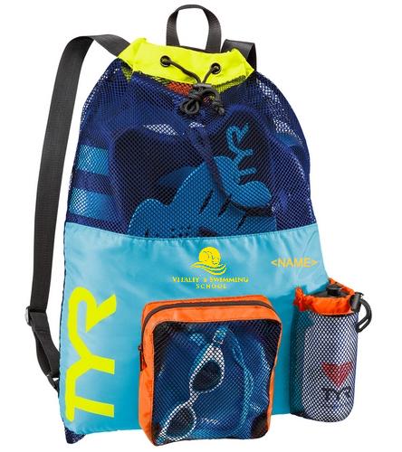 TYR Team Mesh Bag - TYR Big Mesh Mummy Backpack III