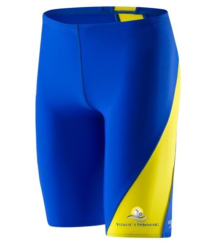 vss - Speedo  Men's Revolve Splice Jammer Swimsuit