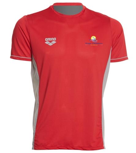 VSS - Arena Men's Team Line Crew Neck Short Sleeve Tech T Shirt