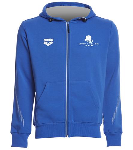 vss arena - Arena Unisex Team Line Fleece Hooded Jacket