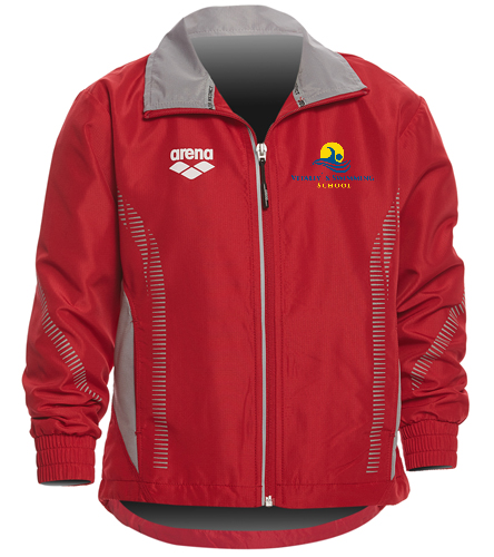 Warm up - Arena Youth Team Line Ripstop Warm Up Jacket