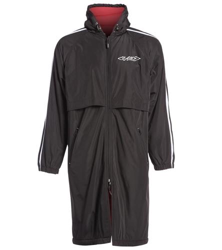 PARKA 1 - Sporti Striped Comfort Fleece-Lined Swim Parka