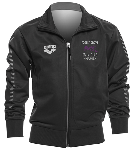Forest Grove Youth Jacket - Arena Youth Team Line Knitted Poly Jacket
