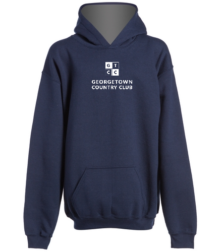 Georgetown Country Club Navy - SwimOutlet Youth Heavy Blend Hooded Sweatshirt