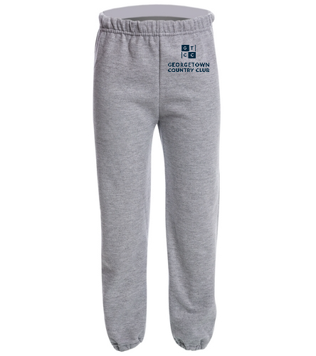 Georgetown Country Club Lt. Grey - SwimOutlet Heavy Blend Youth Sweatpant