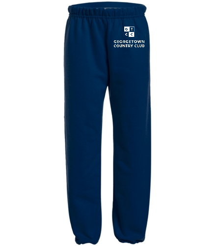 Georgetown Country Club Navy - SwimOutlet Heavy Blend Youth Sweatpant