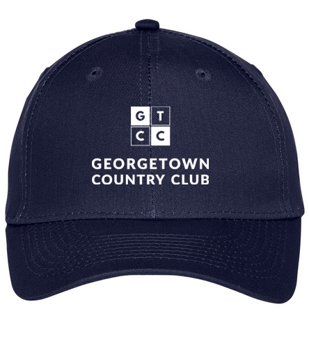 Georgetown Country Club - SwimOutlet Unisex Performance Twill Cap