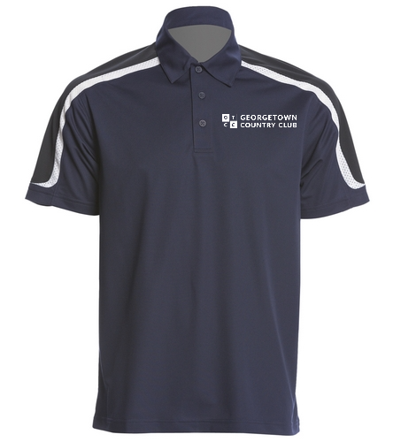 Georgetown Country Club - SwimOutlet Men's Tech Polo
