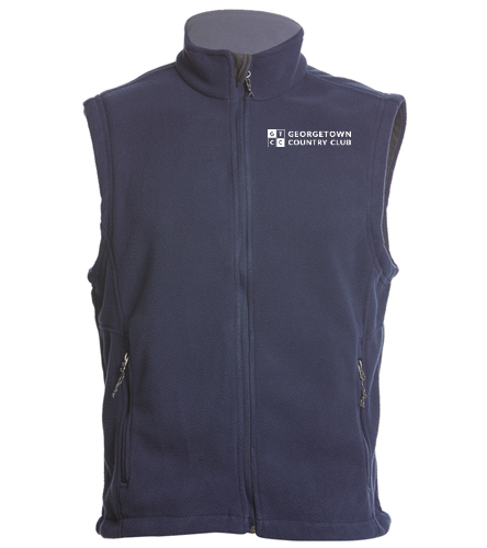Georgetown Country Club - SwimOutlet Adult Men's Fleece Vest