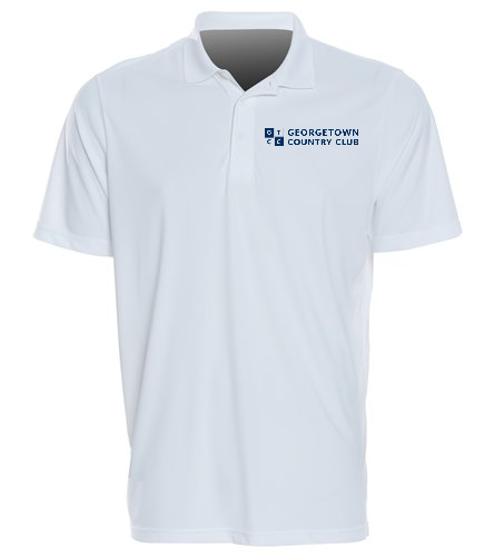 Georgetown Country Club White - SwimOutlet Sport-Tek® PosiCharge® Competitor™ Polo