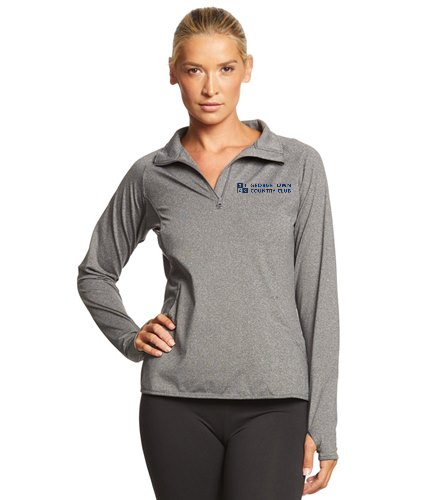 Georgetown Country Club Lt. Grey - SwimOutlet Sport-Tek® Women's Sport-Wick® Stretch 1/2-Zip Pullover