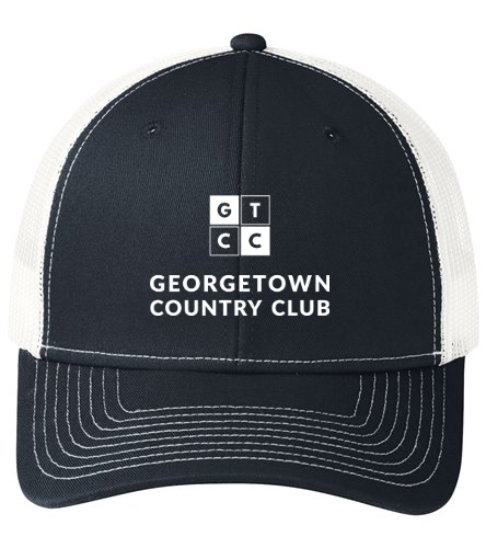 Georgetown Country Club - SwimOutlet Unisex Port Authority® Snapback Trucker Cap