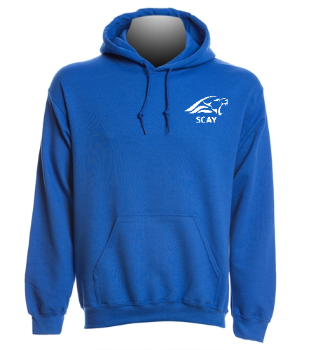 SCAY Adult Hoodie - SwimOutlet Heavy Blend Unisex Adult Hooded Sweatshirt