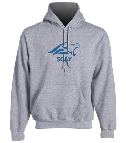 SCAY Adult Hoodie 2 - SwimOutlet Heavy Blend Unisex Adult Hooded Sweatshirt