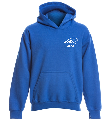 SCAY Youth Hoodie - SwimOutlet Youth Heavy Blend Hooded Sweatshirt