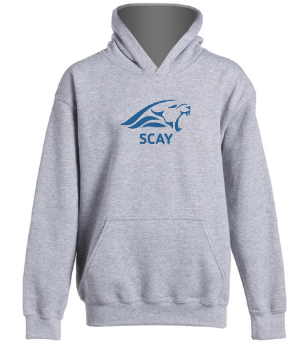 SCAY Youth Hoodie 2 - SwimOutlet Youth Heavy Blend Hooded Sweatshirt