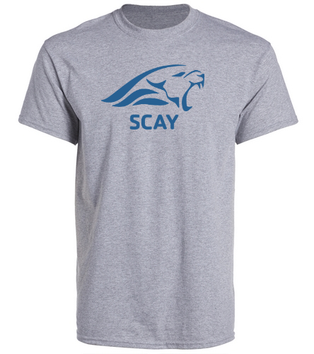 SCAY Adult Tee 2 - SwimOutlet Unisex Cotton Crew Neck T-Shirt