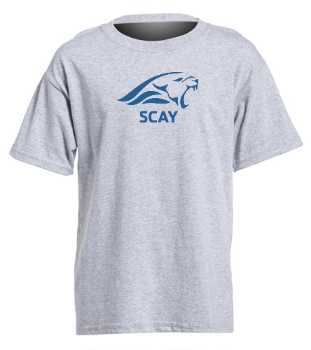 SCAY Youth Tee 2 - SwimOutlet Youth Cotton Crew Neck T-Shirt