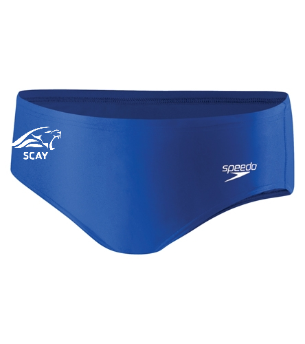SCAY Youth Brief - Speedo PowerFLEX Eco Solid Youth Brief Swimsuit