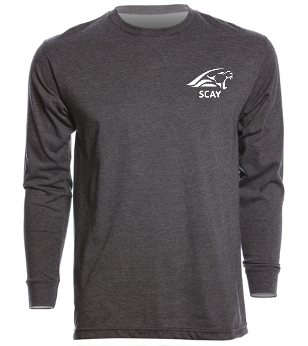 Dark Gr Long Sleeve Shirt - SwimOutlet Unisex Long Sleeve Crew/Cuff