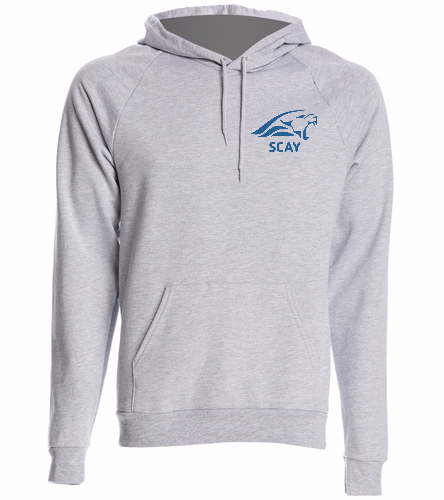 Grey Hodie - SwimOutlet Unisex California Fleece Pullover Hoodie