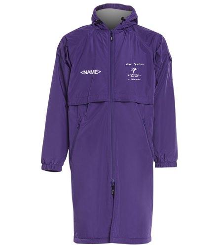ASW Purple Parka - Sporti Comfort Fleece-Lined Swim Parka